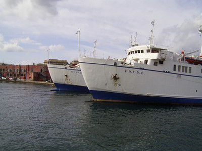 2007 - FAUNO and DRIADE sisterships in Napoli
