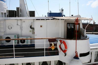 2009 - F/B FALERNO : access to the bridge.