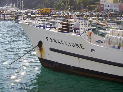 2007 - F/B FARAGLIONE : the bow.