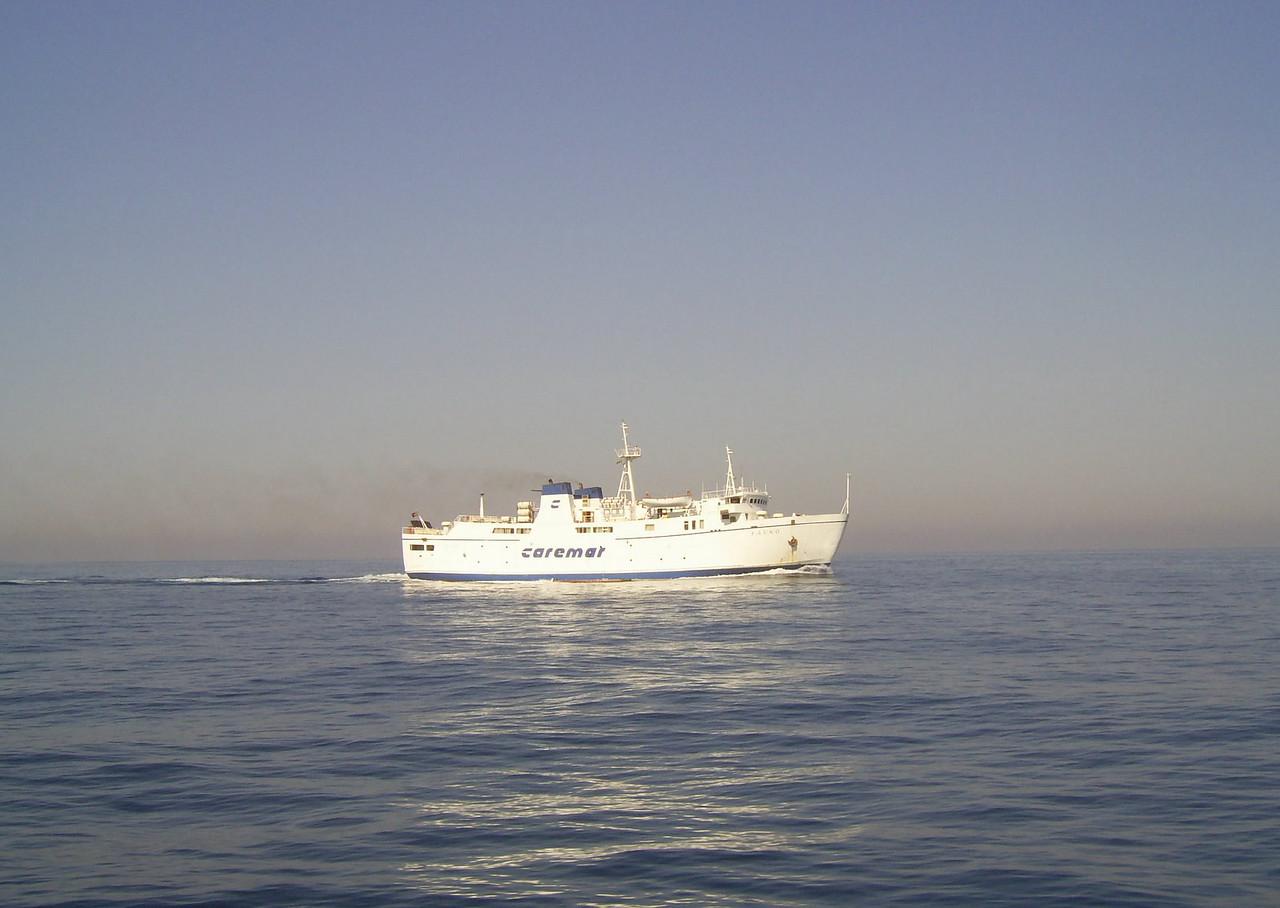 2007 - F/B FAUNO sailing to Napoli.