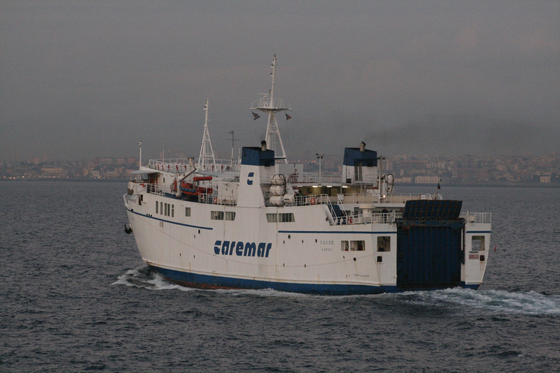 2010 - F/B FAUNO sailing to Napoli.