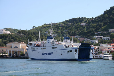 2008 - F/B FAUNO arriving to Ischia.