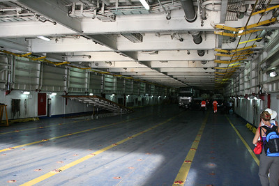 2009 - On board LAURANA : garage deck 3.