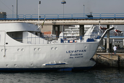 2010 - F/B LEVIATHAN still laid up In Napoli.
