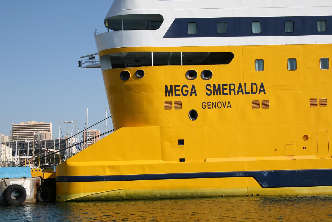 2009 - F/B MEGA SMERALDA in Toulon.