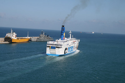 2011 - MOBY CORSE departing from Civitavecchia to Olbia.