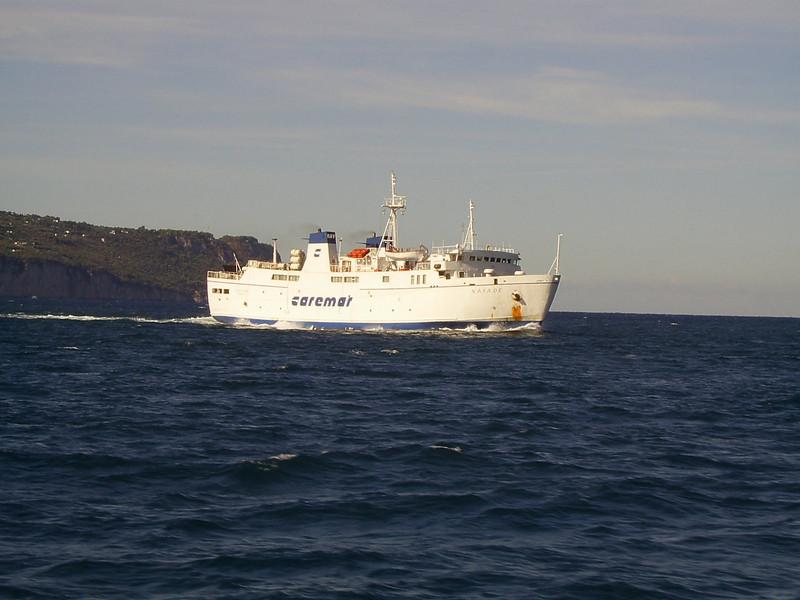 2007 - F/B NAIADE sailing from Capri..