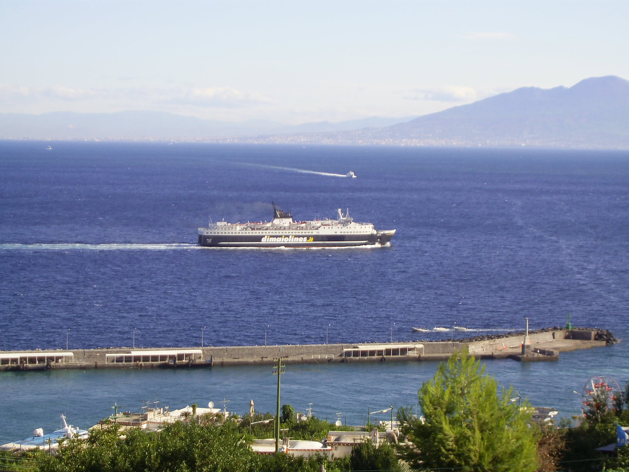 2007 - F/B PALAU sailing offshore Capri