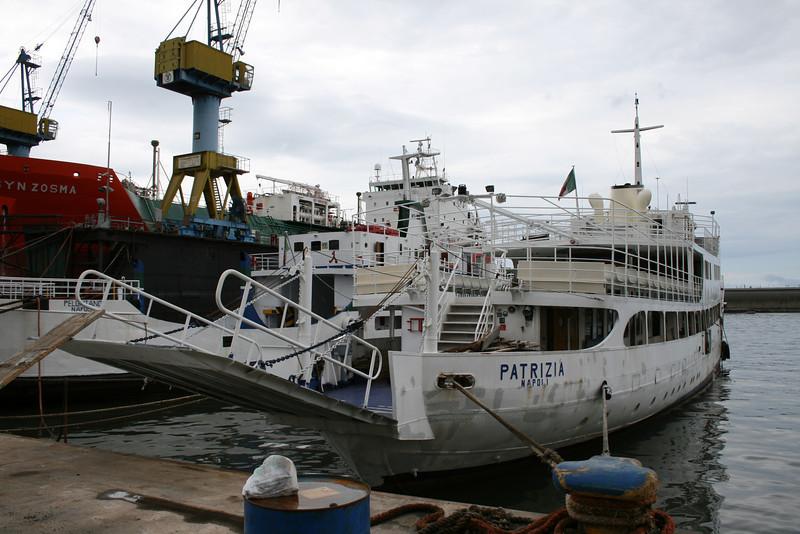 2008 - F/B PATRIZIA laid up in Napoli.