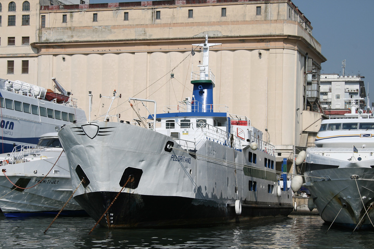 2008 - F/B PELORITANO laid up in Napoli.
