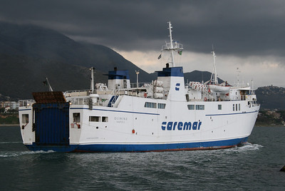 2008 - F/B QUIRINO departing from Formia.