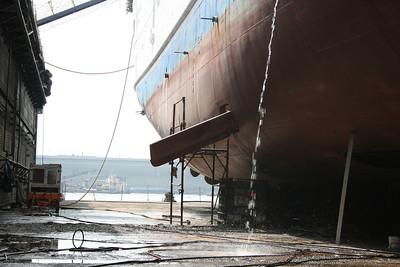 2008 - F/B QUIRINO in dry dock in Napoli.