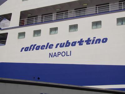 2007 - F/B RAFFAELE RUBATTINO in Napoli.