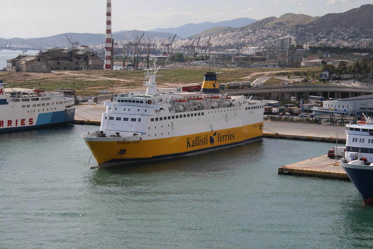 2008 - F/B SARDINIA VERA in Piraeus chartered to KALLISTI FERRIES.