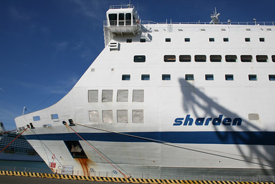 2008 - F/B SHARDEN in Civitavecchia.