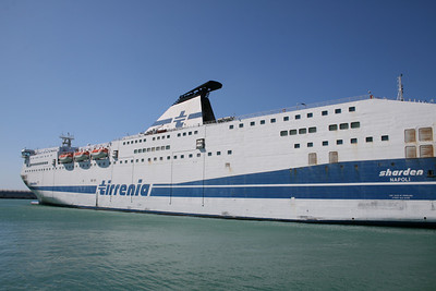 2011 - F/B SHARDEN in Civitavecchia.
