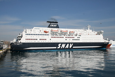 2009 - F/B SNAV SARDEGNA in Napoli.