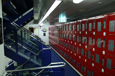 2008 - On board F/B SNAV TOSCANA : security lockers.