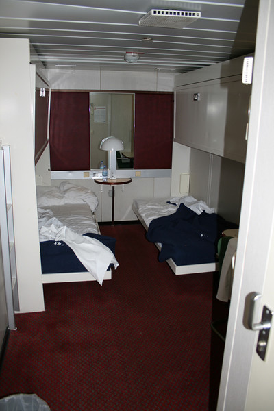 2008 - On board F/B SNAV TOSCANA : B-cabin.