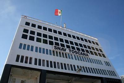 2008 - F/B SNAV TOSCANA in Civitavecchia.