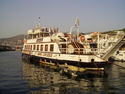 2007 - Old F/B S. VALENTINO converted to mini cruiseship.