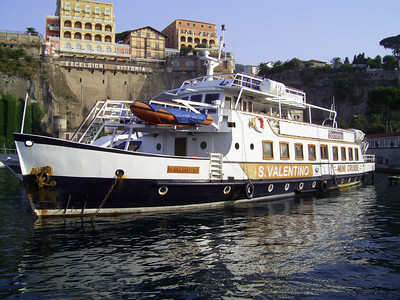 2007 - Old F/B S. VALENTINO converted to mini cruiseship.