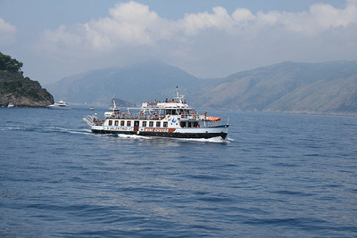 2009 - Mini cruises of old F/B S. VALENTINO from Sorrento to Positano.