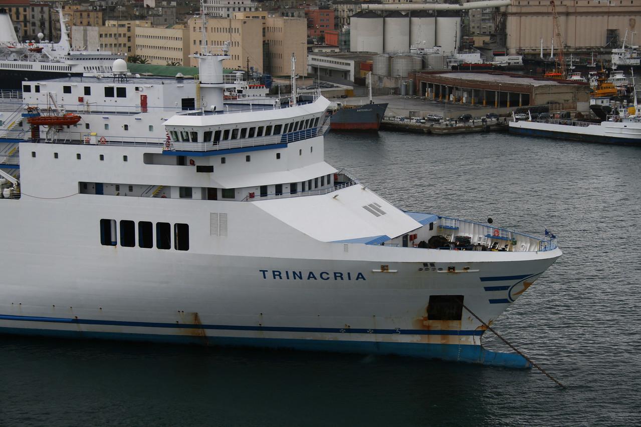 2009 - F/B TRINACRIA in Napoli.
