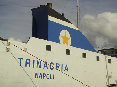 2007 - TRINACRIA in Napoli : name and funnel.