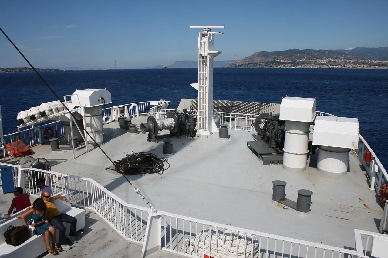2010 - On board VESTFOLD : operating station.