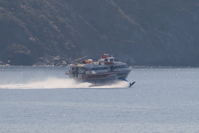 2009 - Hydrofoil ANTIOCO departed from Rinella.