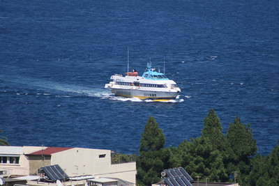 2010 - Hydrofoil NATALIE M arriving to Messina.