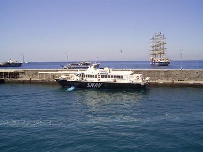 2007 - Hydrofoil PANAREA in Capri.
