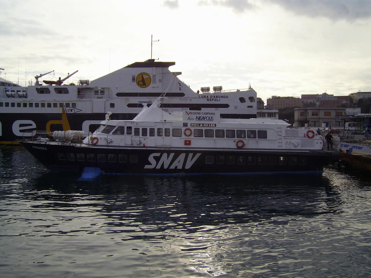 2007 - Hydrofoil PANAREA in Napoli.