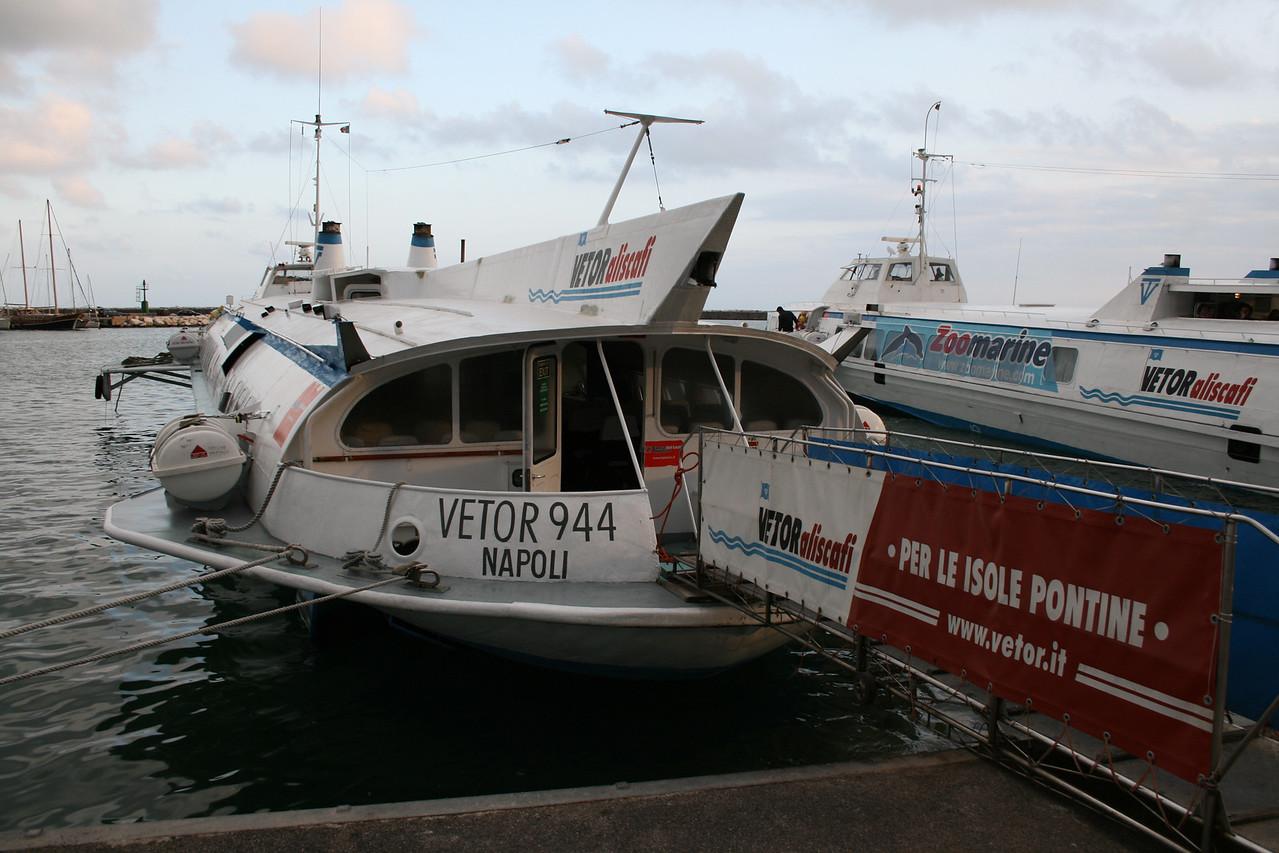 2008 - H/F VETOR 944 in Formia.