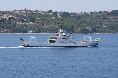 F/B HELGA sailing from Milazzo to Eolian Islands.