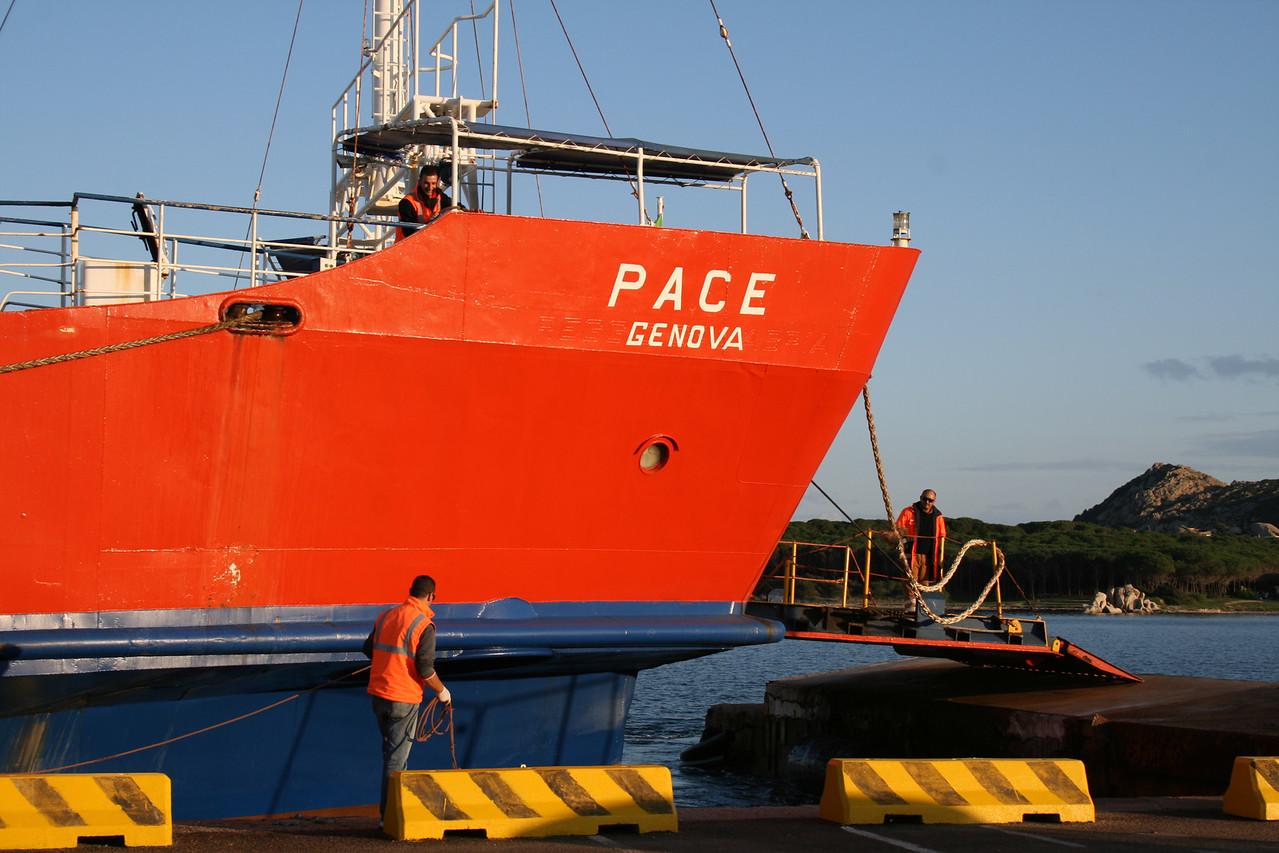 2008 - F/B PACE in Palau