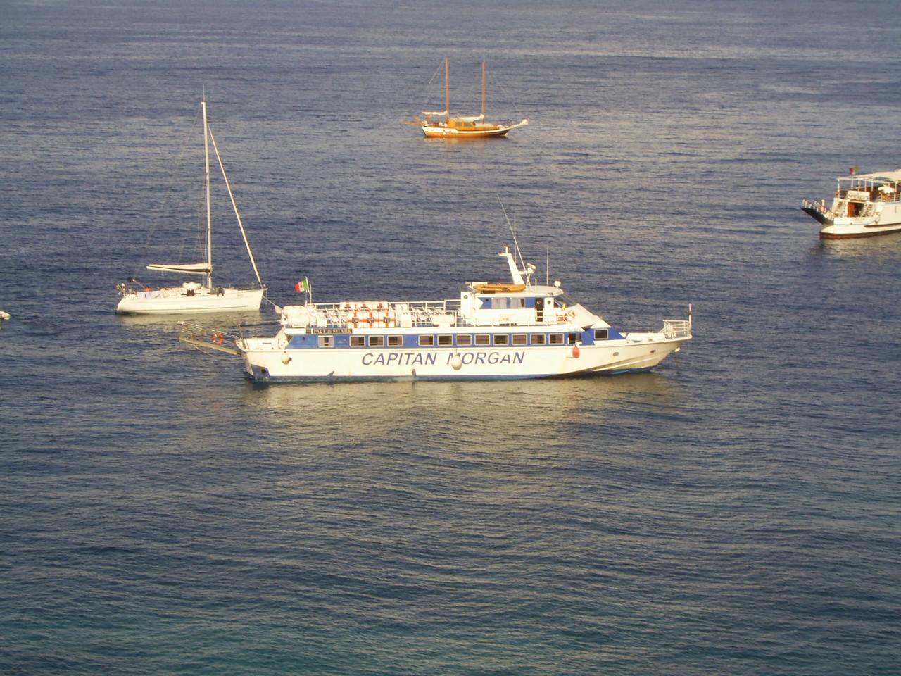 M/V FRECCIA DEL GOLFO offshore Capri.