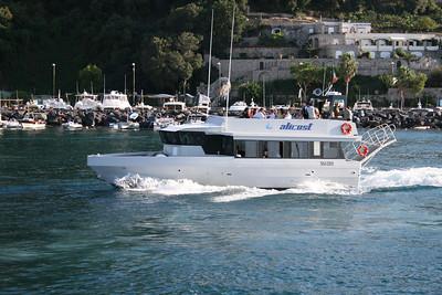 M/V FURORE departing from Capri to Amalfi coast.