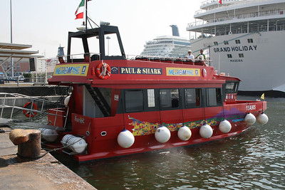 M/V FURORE plays coast sightseeing along the bay of Napoli.