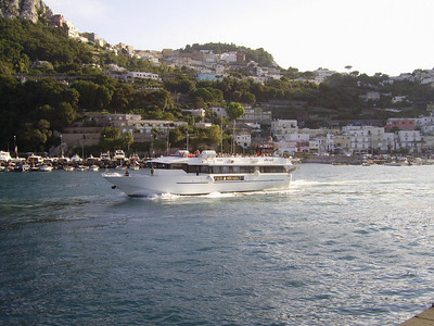 RAID departing from Capri to Positano - Amalfi - Salerno.