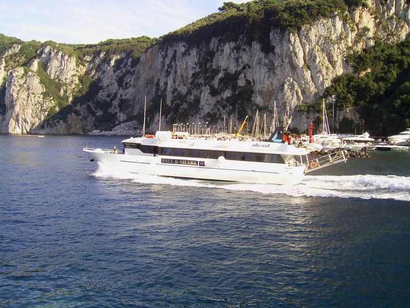 RAID departing from Capri to Positano - Amalfi - Salerno.