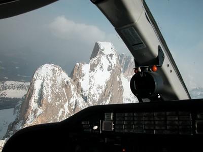 Alpine aerial tour