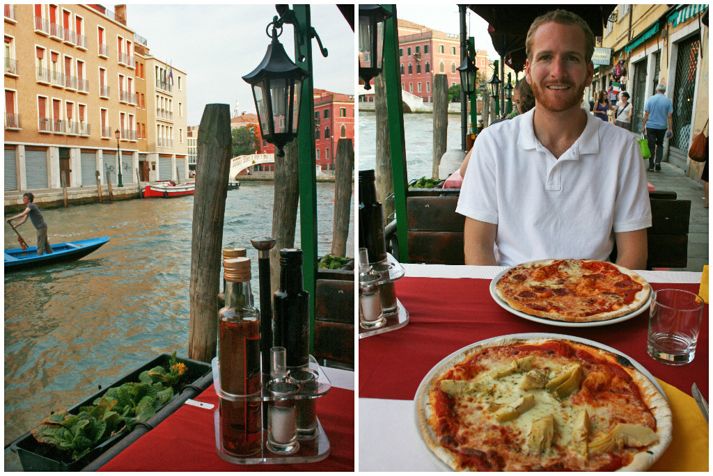 Dining in Venice Italy
