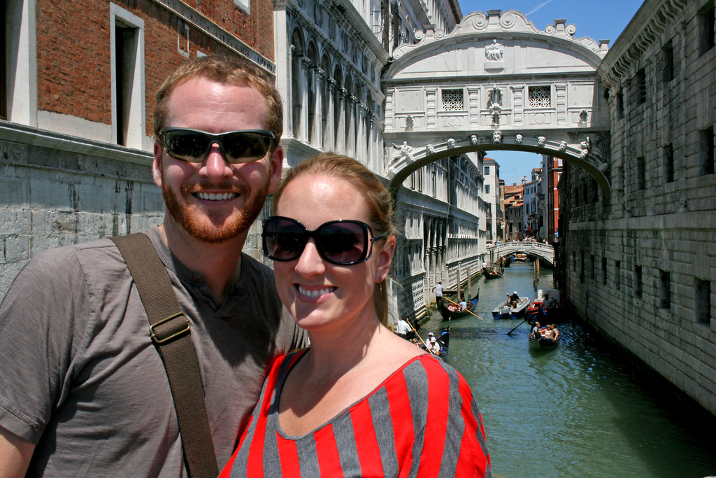 Venice Italy - Bridge of Sighs