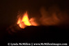 Night eruption of Stromboli volcano, Aeolian Islands.