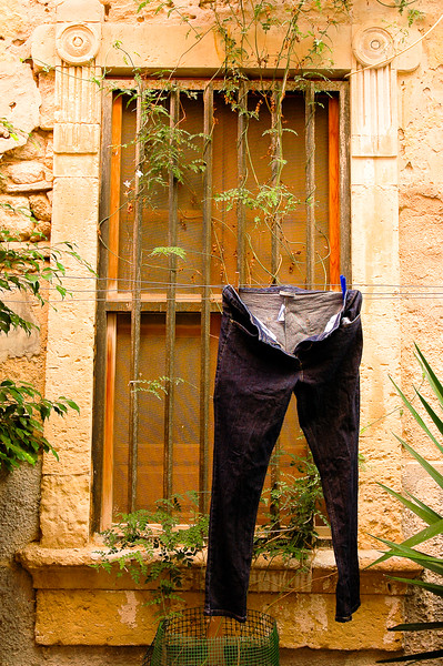 Jeans Drying<br /> Siracusa, Sicily