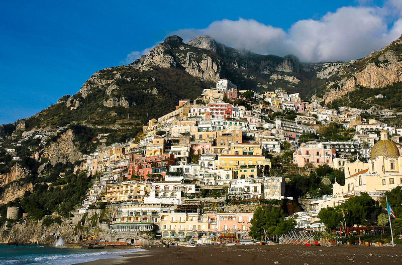 Cliffside Town of Positano<br /> Amalfi Coast, Campania