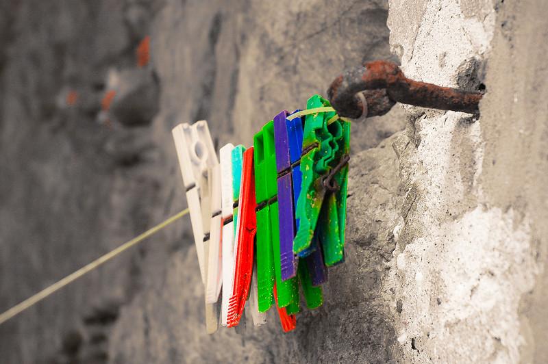Clothespins<br /> Panzano, Tuscany