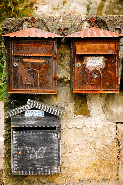 Letter Boxes<br /> Panzano, Tuscany